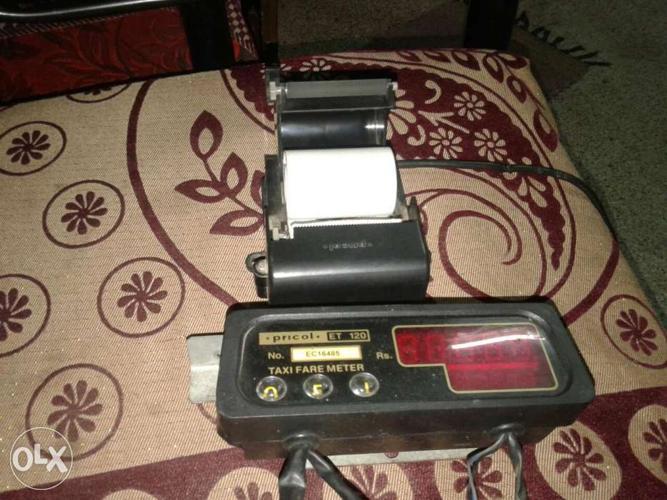 Taxi fare metre & printer,(pricol)branded   Very for Sale in