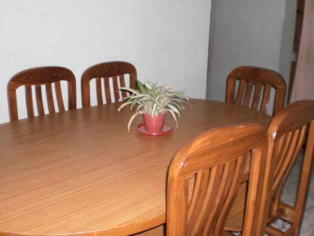 Teak wood saguan dining table for sale in