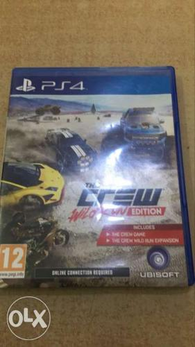 The Crew PS4 Game Case