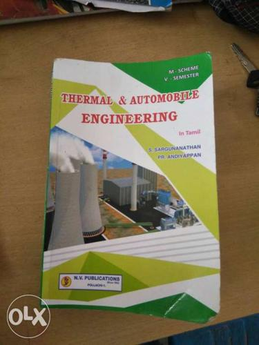 Thermal & Automobile Engineering Book.its new