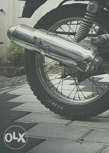 This silencer is customised. U will get a feel of