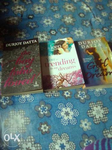 Three Durjoy Datta Books