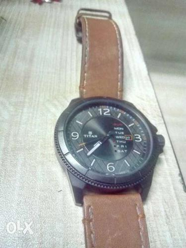 Titan watch with bill box and warranty 5 months