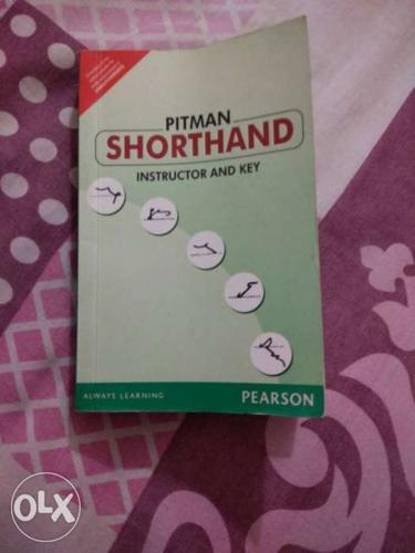 To sell pitman shorthand book for stenographer