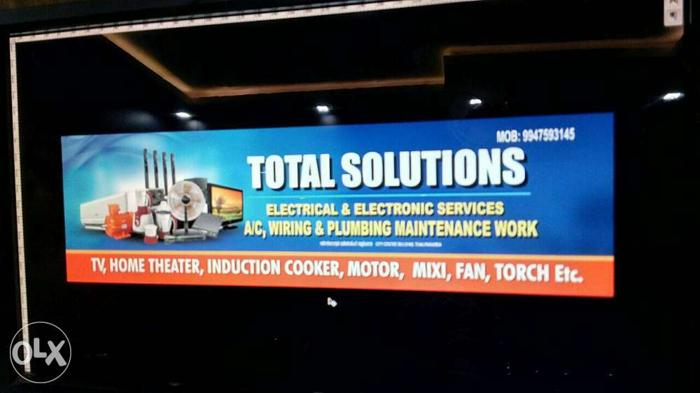 Total Solutions ,Electronic and electrical services