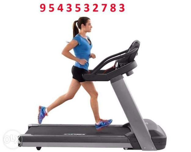 Treadmill Work your upper and lower body and get your