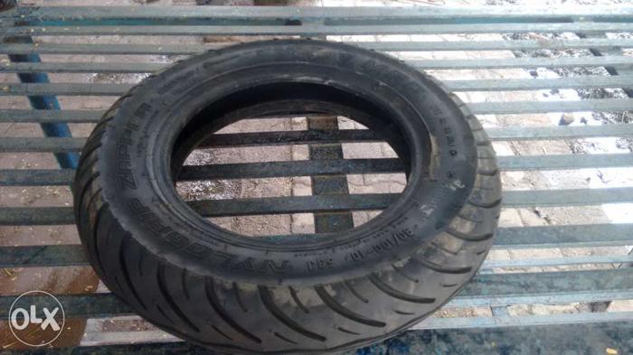 Tubeless tyres mrf of hero pleasure skuty...only