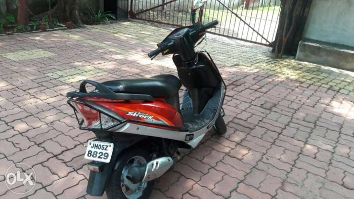TVS Scooty 22000 Kms 2010 year