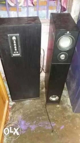 Two Black Speakers