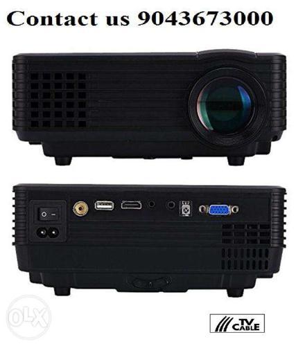 Unic RD 805 Projector LED Projector 1024x768 Pixels