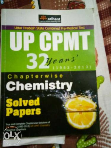 UP CPMT 32 Years Chemistry Book