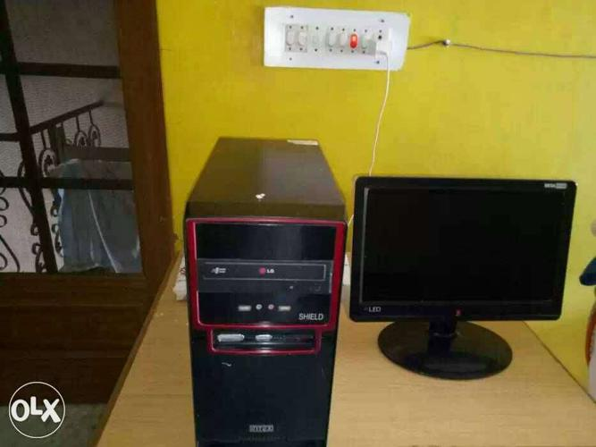 UPS, CPU and Led in good working condition at