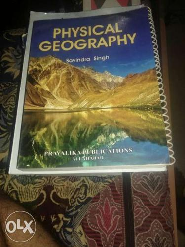 UPSC Book of Physical Geography By Savindra Singh Book