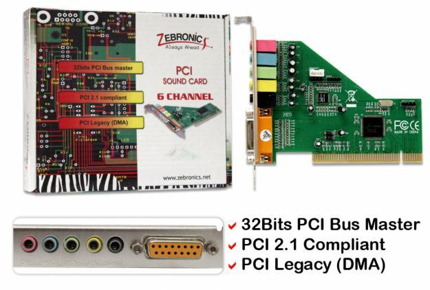 USED SOUND CARD FOR SALE [5.1,PCI]
