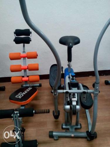 VA - fitness orbitrek, sixpack fitness equipment