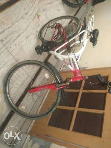 Very good condition of the cycle