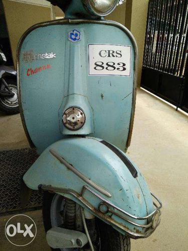 Vintage Bajaj Chetak Scooter for Sale in Anekal, Karnataka