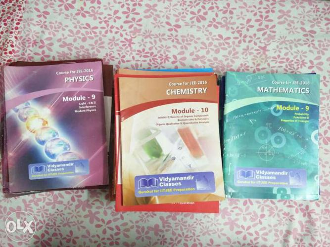 Vmc Physics Chemistry Maths full modules with for Sale in Kurnool