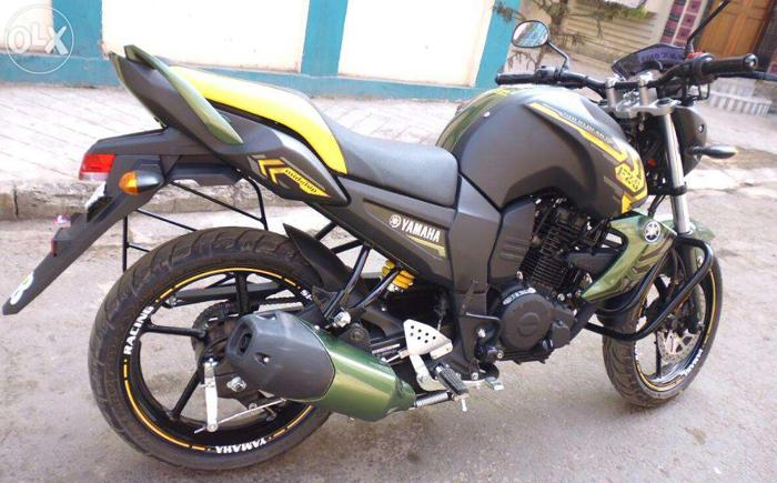 want to sell yamaha fzs bike for sale in anakapalle chandigarh