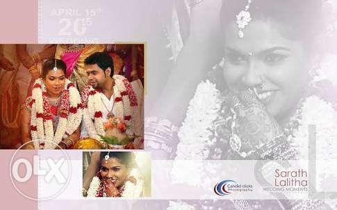 Wedding album page designing Per page ₹50 If