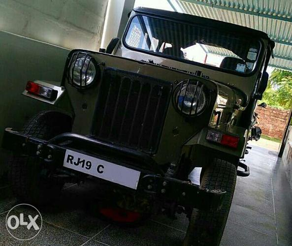 Willys Jeep For Sale Olx Rajasthan >> Willys Jeep In Great Condition For Sale In Jodhpur Rajasthan