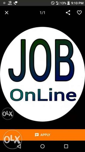 Work from Home or Office or anywhere in India. It