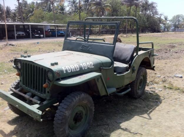 world war 2 low bonnet ford jeep for sale for sale in surat gujarat classified. Black Bedroom Furniture Sets. Home Design Ideas