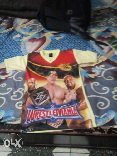 Wwe T-shirt for a 12 years boy