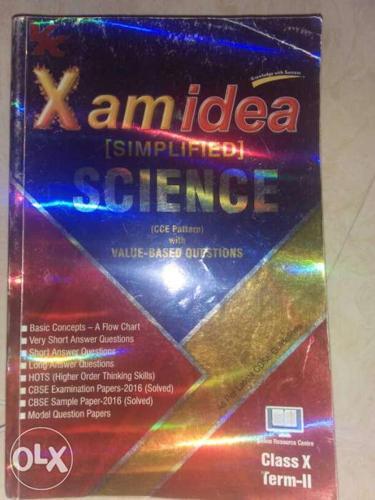 X Am Idea Science Book