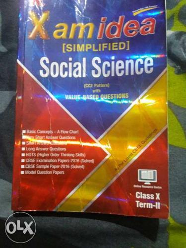X Am Idea Social Science Reading Book