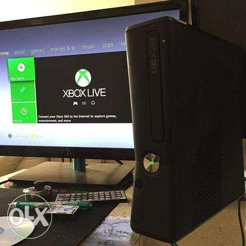 Xbox 360 500gb With 40-50 Original Titles
