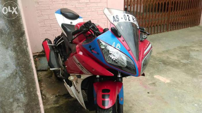 Yamaha r15 the raching moto for Sale in Dimapur, Nagaland