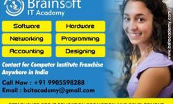 If you want to start your own computer educational institute. Brainsoft IT Academy has come up with Special offer to set up your own Computer Educational Franchisee Center. Courses in Computer Software, Hardware, Mobile Repairing and Multimedia. Low