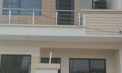 an independent duplex structure in golden enclave zirakpur located near VIP road fully well furnished marbel floors , 3 bedrooms 3 washrooms with anti-skid tiles a big dinning hall with washbasin drawing room well furnished modular kitchens Carparking