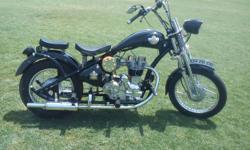 ವಿವರಣೆ ನಮೂನೆ: Bullet 350cc ವರà³à²·: 1977 ಸà³à²¥à²¿à²¤à²¿: ಬಳಸಿದ It's a military disposal 1977 Royal Enfield now registered in Jaipur Modified with a vintage look like BSA, with fat rear