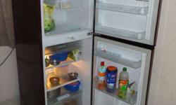 LG 200 litres excellent condition double door fridge