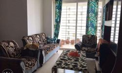 - 3 BHK Fully furnished flat on 11th floor - 11 acres ultra luxury apartment complex - All amenities available - 4 balconies, 3 bath rooms, modular kitchen - Under ground car parking facility