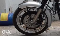 2 days old new prado alloy wheel