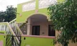 An independent house behind Cluny Convent in Lawspet, Pondicherry for LEASE/BOKKIYAM. A house with two bedroom, hall, kitchen with bathroom in prime and calm locality. Preferred LEASE amount is Rs.FOUR AND A HALF Lakhs for TWO years. Address for the house