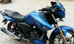 sel my apache rtr blue sport colour good conditon