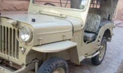 Army disposal jeep mdi 1997 engine good condition