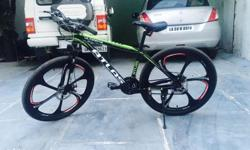 27 gears I have bought it in 22000. Excellent condition Rear n front both disc brakes