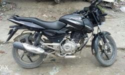 A six month old Pulsar 150cc bike with finest & running condition is to be sold. It has been used single-handedly & driven upto 6350 km only.Price of it can be negotiated. But no brokers please.