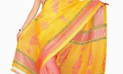 Cloth/Shoes/Accessories: Women Type: Sarees Product Code: HWB106680BRM Fabdeal Casual Wear Yellow & Orange Colored Silk Kota Saree With Unstiched Blouse Get the simplicity and grace with this awesome collection that carries fabulous printed work. The
