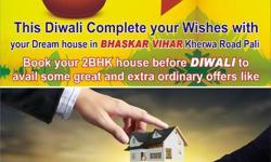 """* Book your house till Diwali to avail some extra ordinary offer like free 32""""LED , 1ToN-Ac , Fridge, Washing Machine, Microwave. * 2d Map & 3d Elevation. * Planning under certified architect. * Vastu friendly. * Semi Furnished Home * Master Bed Room with"""
