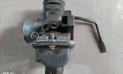 Carburetor for bajaj boxer/ 4 s champion model in working condition average 55 to 60 km/liter for bike .