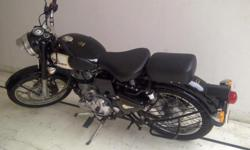 Make: Royal Enfield Model: Other Mileage: 1,400 Kms Year: 2013 Condition: New Dear Viewer, I have bought Classic 350 in June, 2013. I want to sell it because of change in priorities. It is awesome and great beast to be with. Black in color, 1400 KMs