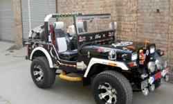 1. we fit highly powered Toyota 3c turbo engine. 2 these jeeps r power steering, 3.disk brakes newly made body, 4 heavy and wide tires wide alloy wheels 5 bucket seats. NOC is provided fast for registration in all India. cheap and damage less