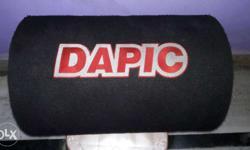 Dapic bass tube 1200wt new brand condition Koi bhi kami nhi hai ek dum new hai jyada used nhi kiya