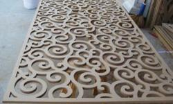 We offer a wide variety of jali cutting services such as MDF jali cutting services, CNC jali cutting services, MDF Board Cutting, etc. to our clients. For any enquirty feel free to contact us, Contact : 9887550038 ----------------------------------- CNC
